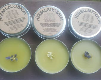 Bug Balm | Organic bug repellant | bug repellant | herbal bug balm | bug spray