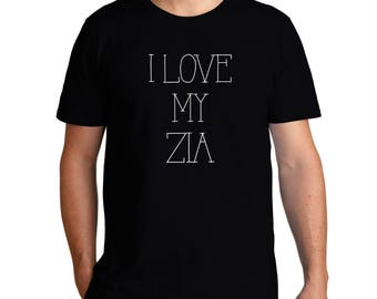 I Love My Zia T-Shirt