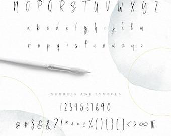 how to make hanwriting font