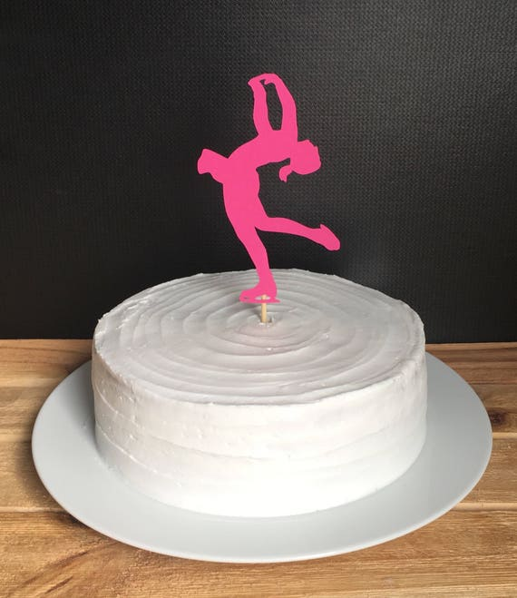 Skating Party Cake Topper Figure Skating Birthday Party One