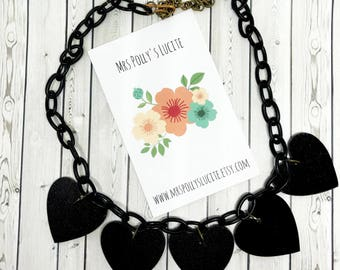 Big Love Necklace - Fakelite - Vintage inspired