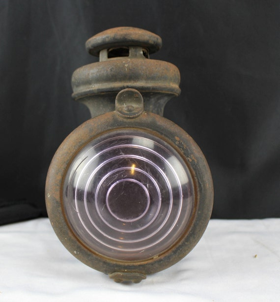 Antique Steampunk Kerosene Lamp Ford Model T Truck Car Lantern Head Light