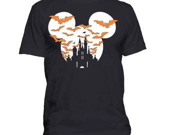 Halloween Disney Castle T-shirt