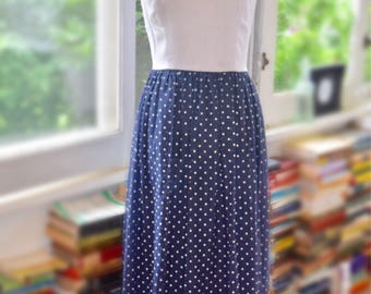 Vintage 1960s 4th of July Long Dress // Miss Continental by Ned Gould