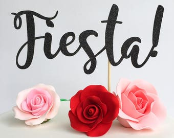 Fiesta cake topper | Mexican cake topper | Fiesta party | Fiesta decorations | Fiesta theme party | Cinco de mayo cake topper