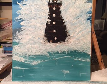 A Lighthouse will Withstand the Waves