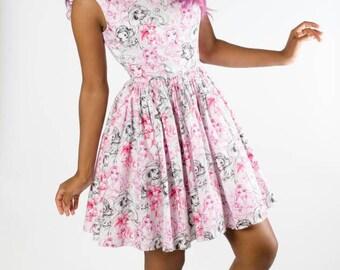 RARE Princess Sketch dress!