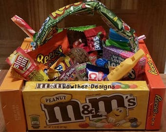 Kids easter gift etsy easter baskets easter candy box easter chocolates easter gift pre made negle Images