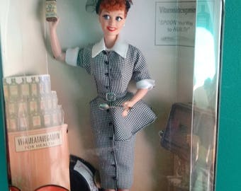 I Love Lucy/ Lucille Ball as Lucy Ricardo/ Lucy does a TV Commercial Doll