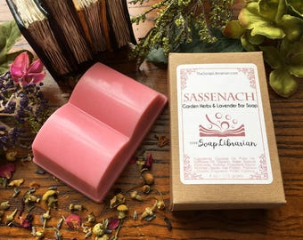 Sassenach Bar Soap - Literary Gift - Natural Handcrafted Soap