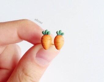 Miniature Carrot Earrings