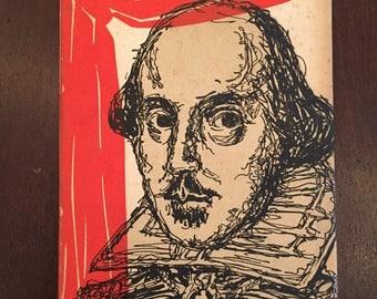 Shakespeare Wisdom & Wit, vintage 1967 Peter Pauper Press book