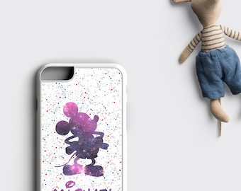 Disney iPhone 7 Case Mickey Mouse iPhone X Case - Disney Personalized iPhone 8 Plus Case - Mickey Mouse iPhone 6S Case - Son Gift for Him