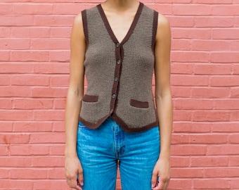Button down vest | Etsy
