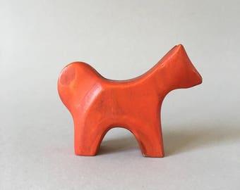 Antonio Vitali wooden Animal Toy Dog - Very rare - Perfect Gift