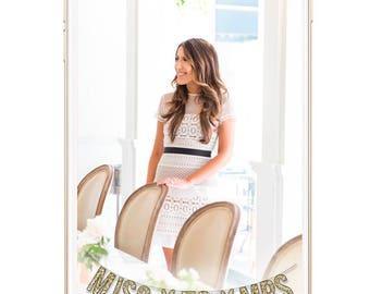 Wedding Miss To Mrs Custom Snapchat GeoFilter