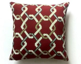 Outdoor decorative pillow cover (Solarium Outdoor Fabric)