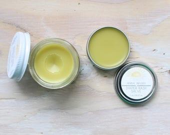 Organic Diaper Rash Salve | Organic Diaper Rash Cream | Diaper Rash Balm | Organic Baby Products | Healing Balm | Healing Salve