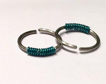 Nipple ring, Nipple piercing, Nipple jewelrye minimalist, 18 Gauge