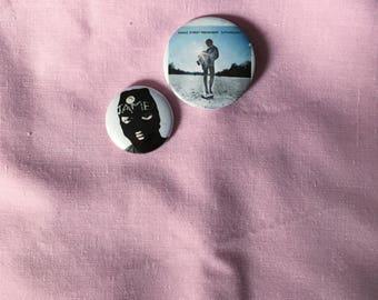 Manic Street Preachers pin badge set