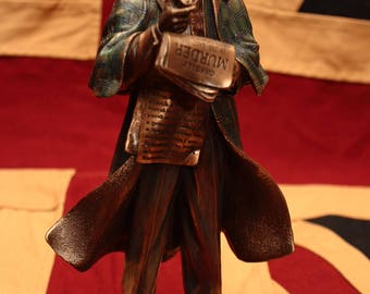 last Sherlock Holmes figurine statuette resine bronze