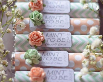 Mint to Be Wedding Favour x50