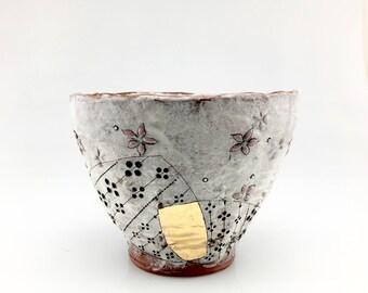 Handmade Ceramic Tall Soup Bowl