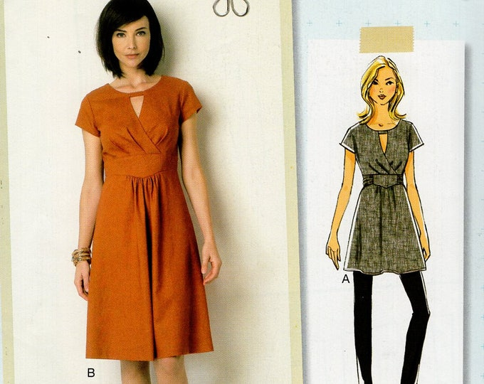 Butterick 275 6168 Sewing Pattern Free Us Ship Dress Tunic Size 6/14 14/22 Bust 30 31 32 34 36 38 40 42 44 new
