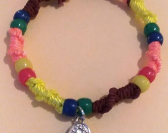 Colorful Friendship Chinese Staircase Bracelet
