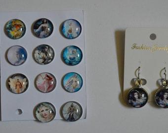 threader earrings choose lady has pair
