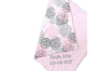 Custom baby blanket etsy negle Choice Image
