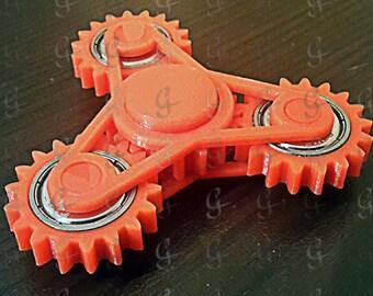 gear fidget spinner toy