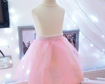 Pink Tutu Ballerina Skirt