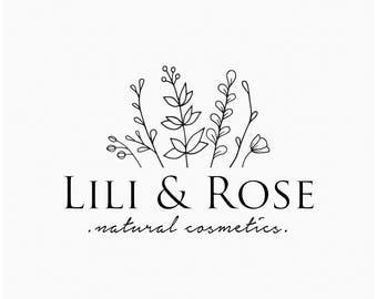 Business logo design, Logo design branding, Premade logo, Photography logo, Custom logo, Branding kit, Feminine logo, Floral logo, Modern
