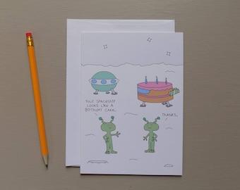 Birthday Cake Spaceship