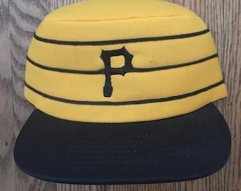 Vintage Pittsburgh Pirates Baseball MLB Snapback Hat Baseball Cap