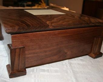 Wood Jewelry Box, Wooden Jewelry Box, Keepsake box, Jewelry Storage box, 1H