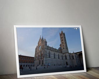 Siena Cathedral, Siena Italy, Siena Print, Italy Photo, Italy Photography, Travel Photography, Europe Photography, Architecture, Wall Art