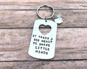 Teacher Keychain - Teacher Gifts - Teacher Appreciation - Gift for Teacher - Keychain - Student Teacher Gift - Teaching Gift - Teacher