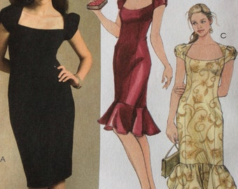 Evening Dress - McCalls Pattern - M5269 (DD) - Sewing Pattern - Sizes UK 12-14-16-18 - Uncut Pattern - Easy Sewing Pattern - Dress Pattern