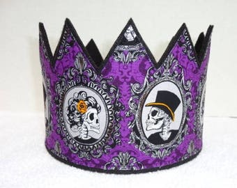 halloween crown skull crown day of the dead sugar costume