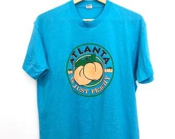Vintage 80's Atlanta Cute T-Shirt