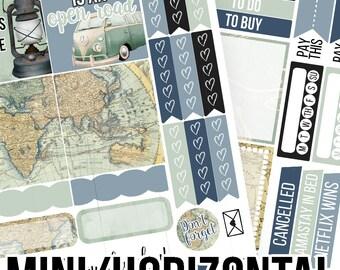 Wanderer Mini/Horizontal Kit - Planner Stickers