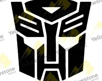 Transformer Autobot logo - Vinyl Decal for Car, Truck, Wall, Laptop