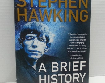 Stephen Hawking A Brief History In Time 1996, Paperback