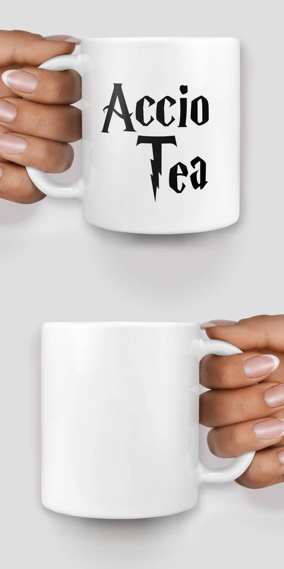 Accio Tea Harry P inspired mug - Christmas mug - Funny mug - Rude mug - Mug cup 4P001