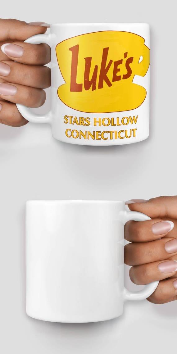 Luke's Diner Gilmore Girls Stars Hollow Connecticut mug - Christmas mug - Funny mug - Rude mug - Mug cup 4P085