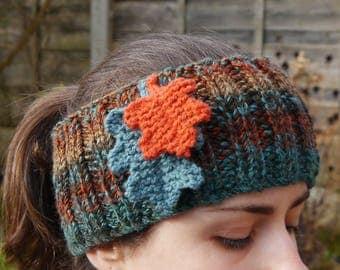 Oak Leaf Headband, Ear Warmers