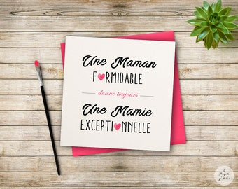 Card - A great MOM...