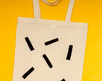 Sewing Shapes Tote bag